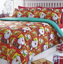 Christmas Duvet Set North Pole Christmas Quilt Cover Sets All Sizes
