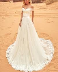 tulle wedding dresses uk 2018 simple ivory wedding dresses a line the shoulder modest