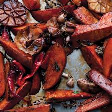 pescatarian thanksgiving recipes sweet potatoes with orange bitters recipe epicurious com