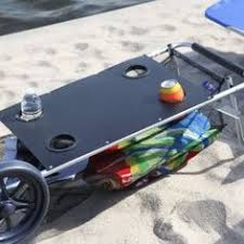 Rolling Beach Chair Cart Beach Carts And Wagons With Big U0026 Balloon Wheels A Review Surf