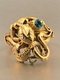classic octopus ring holder images 78 best octopus and skull rings images in 2018 jpg