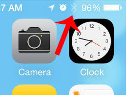 Iphone 5 Top Bar Icons How Do I Know If Bluetooth Is Turned On For My Iphone 5 Solve