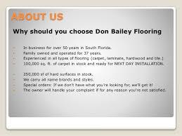 Don Bailey Flooring Fl - Don bailey flooring