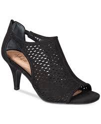 Macys Womens Comfort Shoes Style U0026 Co Haddiee Ankle Shooties Created For Macy U0027s Sandals