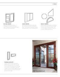 E Unlimited Home Design Brochure Architectural Collection E Series Window Door 9066674