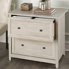 filing cabinet 2 drawer wood file cabinet white wood file