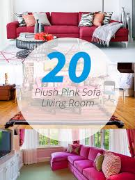 Pink Armchairs For Sale 20 Plush Pink Sofa Living Room Home Design Lover