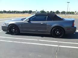 Black 2003 Mustang 19x9 19x10 5 3 Piece Mach Five In Gloss Black U2039 True Forged Wheels