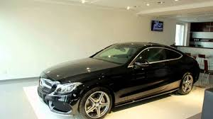 black mercedes all mercedes c 220d coupe black colour made by 2016