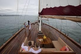 Sailboat Sun Awnings Orient Pearl Crewed Sailing Yacht Charter Boatsatsea Com