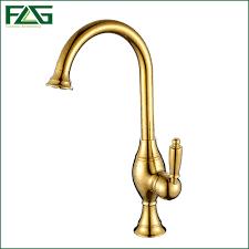 aliexpress com buy flg free shipping luxury golden brass kitchen