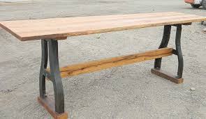 Counter Height Sofa Table by Table Industrial Sofa Table Legs Awesome Industrial Bar Height