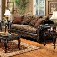 venetian worldwide rotherham floral brown fabric u0026 espresso