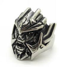 cool rings for men helmet horrify terminator robot rings men fashion jewelry