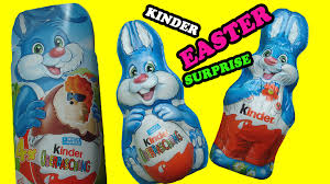s chocolate bunnies curious what s inside kinder easter chocolate bunny eggs