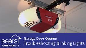 Craftsman Garage Door Openers Troubleshooting by Garage Door Won U0027t Close Lights Blink 10 Times Youtube