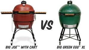 Green Egg Kitchen - kamado joe vs big green egg firecraft