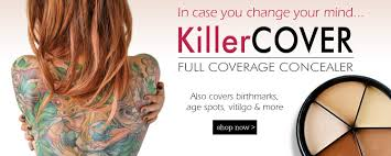 best concealer makeup for dark under eye circles bruises tattoos