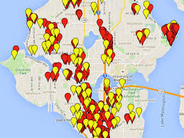 Centurylink Field Map Every Pokéstop And Gym In Seattle Mapped Curbed Seattle