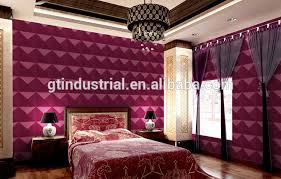 easy to be installed vinyl peel and stick wallpaper 3d stick