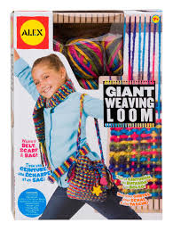 amazon com alex toys craft giant weaving loom toys u0026 games
