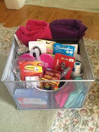 college gift baskets diy gift basket for college college gift basket i made for