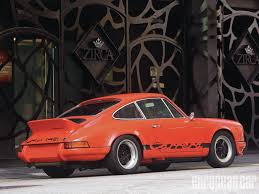 orange porsche 911 turbo porsche 911 carrera rs 2 7 replica european car magazine