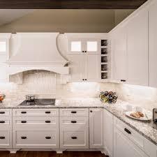 kitchen backsplash ideas with white cabinets houzz 75 beautiful kitchen with white cabinets and travertine