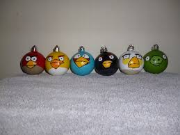 angry birds ornaments by keitoran on deviantart