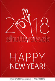 happy everything sign happy new year greeting card doodle stock vector 772794106
