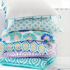 Pottery Barn Teen Comforter Tassel Duvet Cover Sham Pbteen