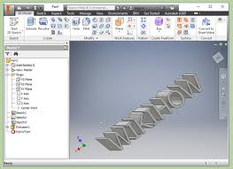 how to extrude text in autodesk inventor 14 steps with pictures