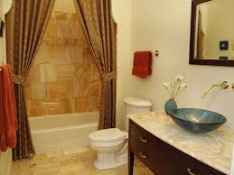 earth tone bathroom designs burlap shower curtain bathroom traditional with framed mirror