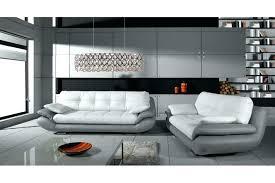 canape design gris canape 3 1 1 canape gris et blanc deco in ensemble cuir relax
