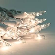 3 5 volt 100 clear replacement christmas mini light bulbs green