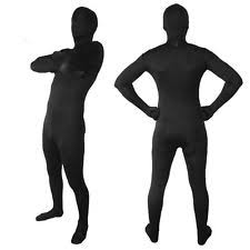 Halloween Ninja Costumes Body Black Lycra Spandex Zentai Halloween Party Ninja Costume
