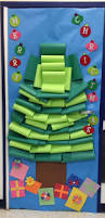 christmas tree classroom door decorations