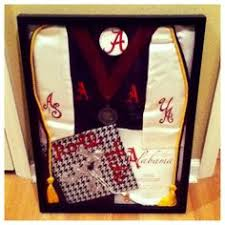 graduation shadow box cap and gown graduation invitations of alabama search diy