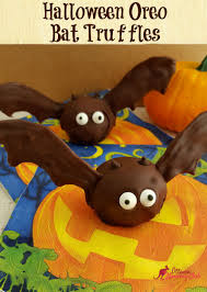 halloween oreo bat truffles recipe ottawa mommy club