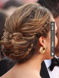 updos for long hair with braids 35 best wedding updos for long hair images on pinterest weddings