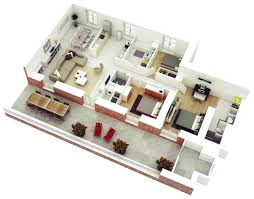 3 bedroom home plans 7 best 3 bedroom house plans in 3d you can copy homelilys decor