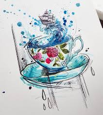 best 25 teacup tattoo ideas on pinterest cup tattoo cup of tea