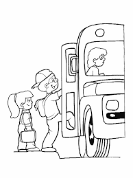 bus coloring pages coloring pages for kids