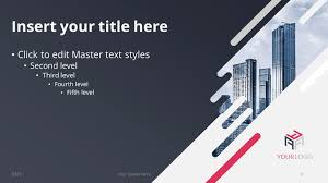 diagonal creative powerpoint template