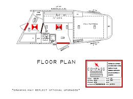 horse trailer living quarter floor plans compass conversions most popular living quarter floor plans