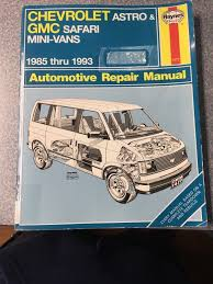 28 98 chevrolet astro van chilton manual 87945 haynes