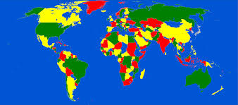 Malawi Map File Five Colors World Map Malawi And African Great Lakes Problem
