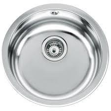 teka erc stainless steel 1 0 bowl round inset sink ctk1046