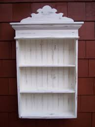 Distressed White Kitchen Hutch Distressed White Cabinet Bathroom Cabinet Kitchen Shabby Chic
