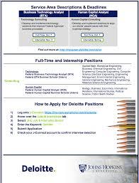 Deloitte Consulting Resume Deloitte Consulting U2013 Hopkins Chembe Career Network